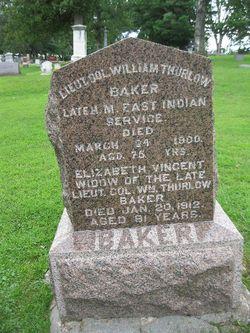 LTC William Thurlow Baker