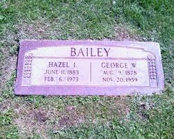 Hazel Isabel <I>Denny Jones</I> Bailey