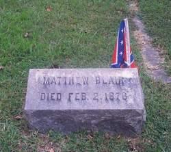Corp Matthew Blair