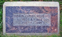 Amasa Lyman Haymond