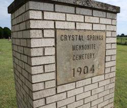 Crystal Springs Mennonite Cemetery