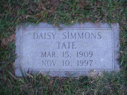 Daisy Leo <I>Simmons</I> Tate