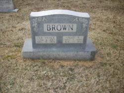 """Olive Gertrude """"Ollie"""" <I>Rothrock</I> Brown"""