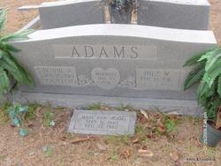 Bennie Alexander Adams