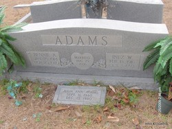 Inez Edith <I>Wilder</I> Adams