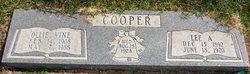 Ollie <I>Vine</I> Cooper