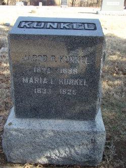 Maria Louise <I>Gregg</I> Kunkel