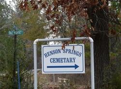Henson Springs Cemetery
