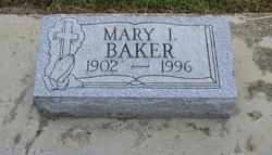 Mary I <I>Ray</I> Baker