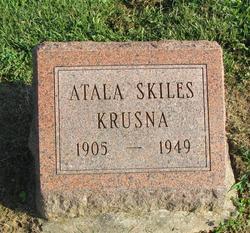 Atala M <I>Skiles</I> Krusna