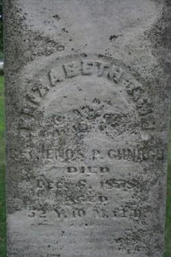 Elizabeth Ann <I>Thomas</I> Church