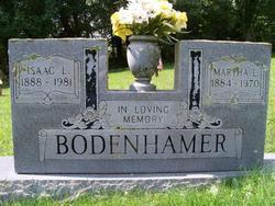 Martha Jane <I>Long</I> Bodenhamer
