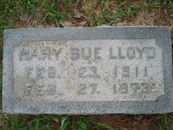 Mary Sue <I>Klein</I> Lloyd