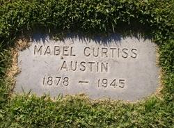Mabel Curtiss <I>Curtis</I> Austin
