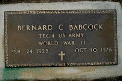 Bernard C Babcock