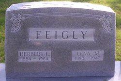 Lena M. <I>Lucas</I> Feigly