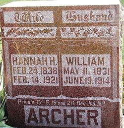 Hannah <I>Harris</I> Archer