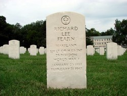 1LT Richard Lee Fearn, Jr
