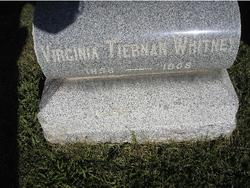 Virginia <I>Tiernan</I> Whitney