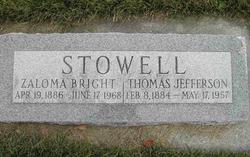 Thomas Jefferson Stowell