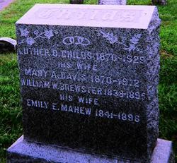 Emily Eliza <I>Mahew</I> Brewster