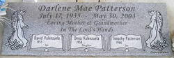 Darlene Mae <I>Stone</I> Patterson