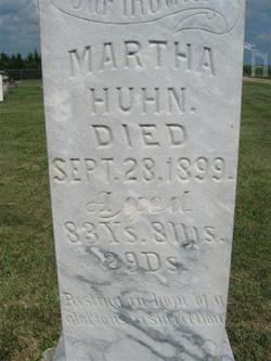 Martha Alice <I>Magee</I> Huhn