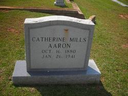 Catherine <I>Mills</I> Aaron