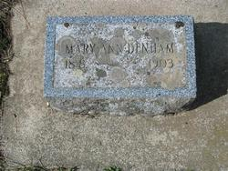 Mary Ann <I>French</I> Denham
