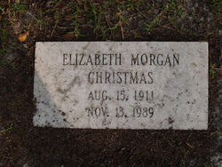 Elizabeth <I>Morgan</I> Christmas