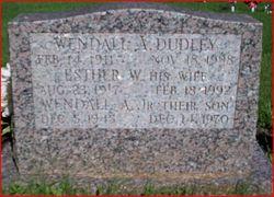 PFC Wendall A. Dudley, Sr