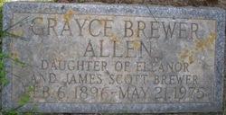 Grayce <I>Brewer</I> Allen