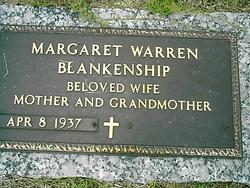 Margaret <I>Warren</I> Blankenship