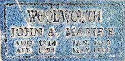 Marie Ella <I>Lundeen</I> Woodworth