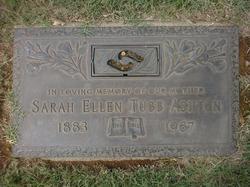 Sarah Ellen <I>Tubb</I> Ashton