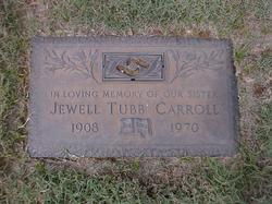 Jewell May <I>Tubb</I> Carroll