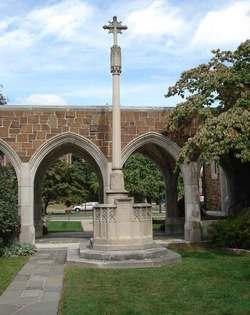 Saint Johns Episcopal Church Cloister Garden