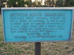 Myrtle Ridge Cemetery