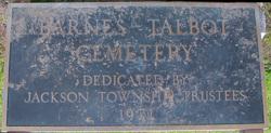 Barnes-Talbot Cemetery