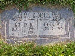 Billie B <I>Hayes</I> Murdock