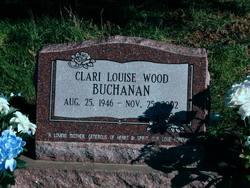 Clari Louise <I>Wood</I> Buchanan