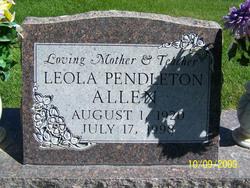 Leola <I>Pendleton</I> Allen