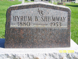 Hyrum Brooks Shumway