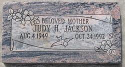 Judy <I>Haueter</I> Jackson