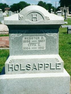 Webster D. Holsapple