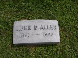 """Eliphalet Dunn """"Liphe"""" Allen"""