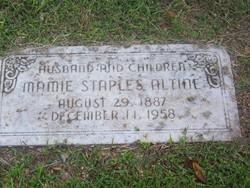 Mamie <I>Staples</I> Altine