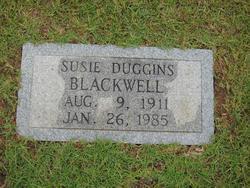 Susie <I>Duggins</I> Blackwell