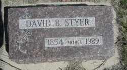 David B. Styer