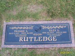 Elzy Luther Rutledge